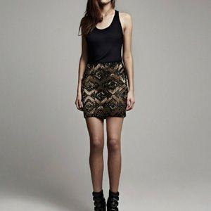 All Saints Embellished Skirt